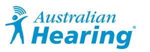 Australian Hearing Logo